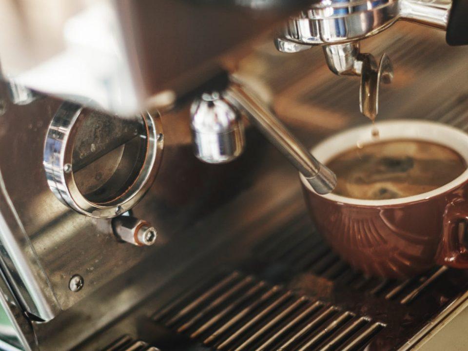 macchina da caffè in comodato d'uso